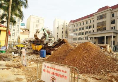Phá dỡ, thanh lý nhà và công trình trên đất trụ sở CAH Ba Vì