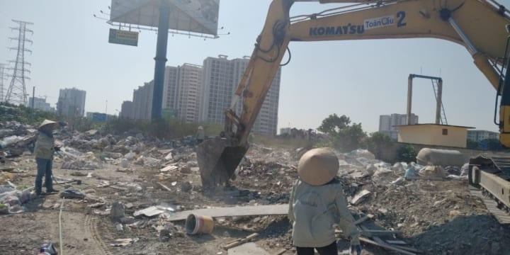 Phá dỡ, thanh lý nhà và công trình trên đất trụ sở CAH Thanh Oai